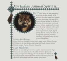 My Animal Spirit is...Tiger by Abeque  Wikimac