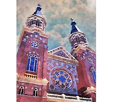 St. Mary's Catholic Church Photographic Print