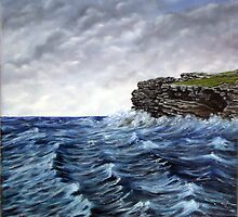 """George's Head, Kilkee"" by Avril Brand"