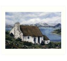 """Irish Cottage"" Art Print"