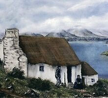 """Irish Cottage"" by Avril Brand"