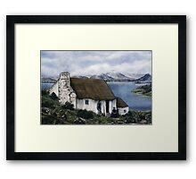 """Irish Cottage"" Framed Print"