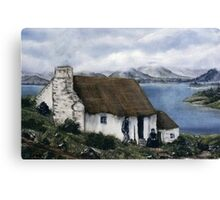 """Irish Cottage"" Canvas Print"
