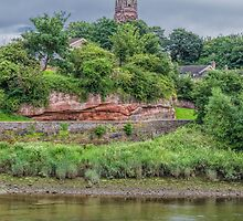 Alongside the River Dee, Chester, England #2 by Elaine Teague