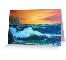 """""""Cliffs of Clare"""" Greeting Card"""