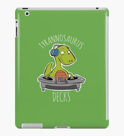 Tyrannosaurus Decks iPad Case/Skin