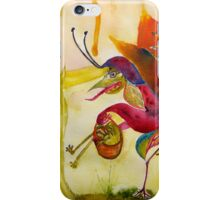 Flora and Froggy Escape iPhone Case/Skin