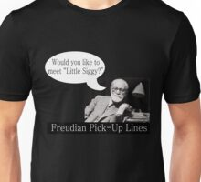 Freudian Pick Up Lines 4 Unisex T-Shirt