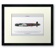 Lancaster GB 179 Squadron 1 Framed Print