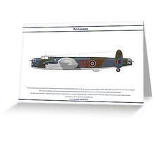 Lancaster GB 179 Squadron 1 Greeting Card