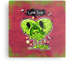 Love Sick Metal Print