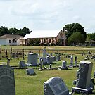 Old Bethel Cemetery and Church by Glenna Walker