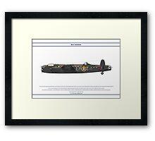 Lancaster GB 207 Squadron 1 Framed Print