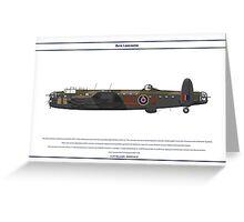 Lancaster GB 576 Squadron 1 Greeting Card