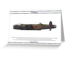 Lancaster 617 Squadron 1 Greeting Card