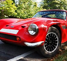 Classic sports car  by franceslewis