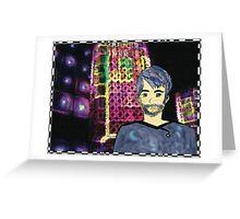Sci-fi Chris Greeting Card