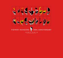 Power Rangers 20th Anniversary - 1993-2013 (Alternate Ver.) Unisex T-Shirt