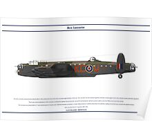 Lancaster 617 Squadron 2 Poster