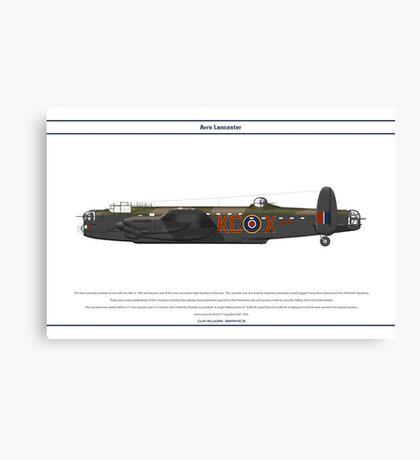 Lancaster 617 Squadron 3 Canvas Print