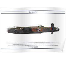 Lancaster 617 Squadron 4 Poster