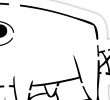 Perry the Platypus Stencil Sticker