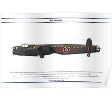 Lancaster 617 Squadron 6 Poster