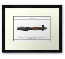 Lancaster 617 Squadron 8 Framed Print