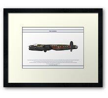 Lancaster 617 Squadron 9 Framed Print