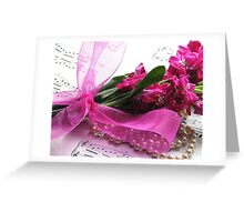 Afternoon Melody Greeting Card