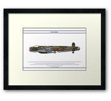 Lancaster 617 Squadron 10 Framed Print