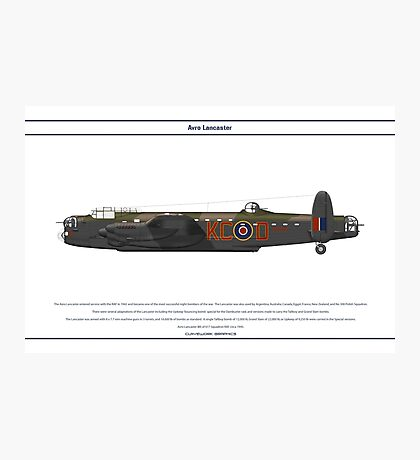 Lancaster 617 Squadron 11 Photographic Print