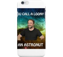lame dad space joke with mark sheppard iPhone Case/Skin