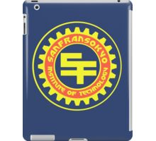 San Fransokyo Institute of Technology (Text) iPad Case/Skin