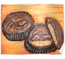 """Peanut Butter Cups"" Poster"
