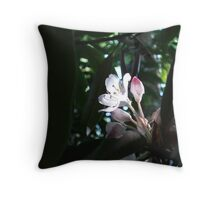 Rhododendron on Cut-Off Ridge Throw Pillow