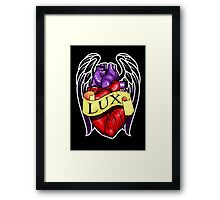 RIP Lux Framed Print
