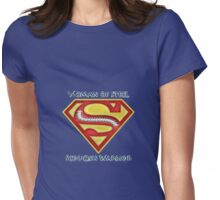 Woman of Steel - Scoliosis Awareness Womens Fitted T-Shirt
