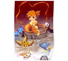 Misty as a Mermaid Poster