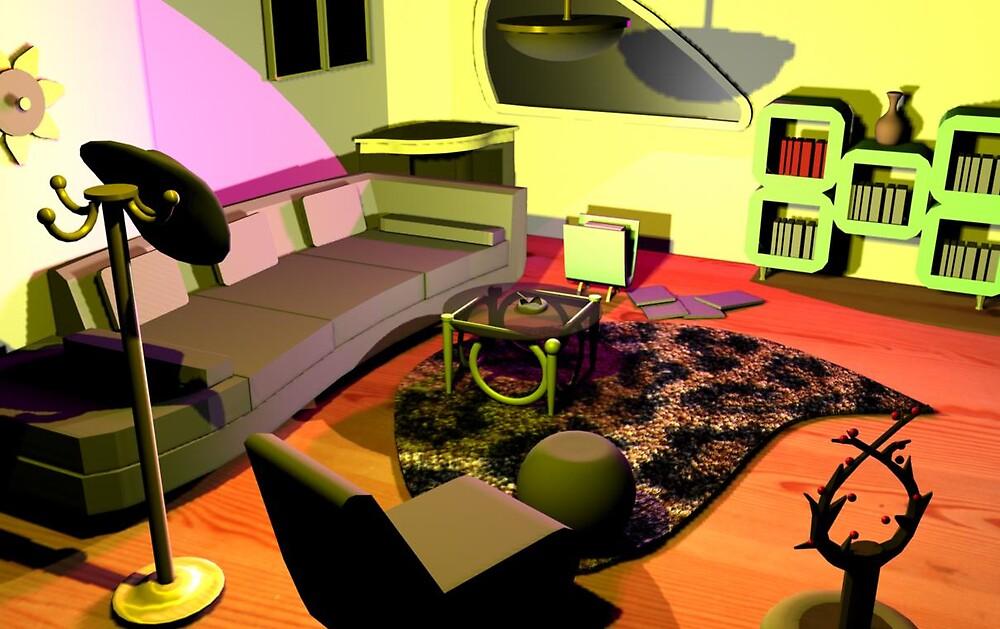 3D ROOM by catalina acosta