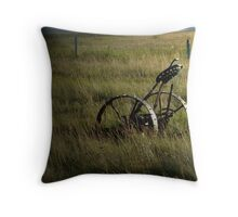 Prairie Scene Throw Pillow