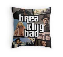 GTA Breaking Bad Edition  Throw Pillow