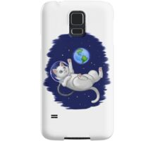 Are you there world? Its me, Kitteh Samsung Galaxy Case/Skin