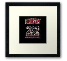 Chicago Bulls NBA - Taj Gibson v2.0 Framed Print