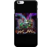 Majora's Mask - Through The Fire And The Flames iPhone Case/Skin