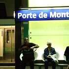 Porte de Montreuil silhouettes by dexsta