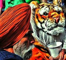 Indian Tea & Tiger Toy Too by A90Six