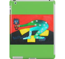 crazy wizard iPad Case/Skin