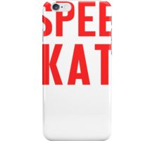 Burn Off The Crazy Speed Skate T-shirt iPhone Case/Skin