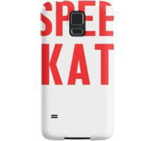 Burn Off The Crazy Speed Skate T-shirt Samsung Galaxy Case/Skin